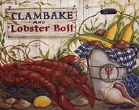 Clambake Framed Print