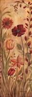 Floral Tapestry I Framed Print