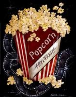 Popcorn Framed Print