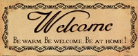 Vintage Welcome Fine Art Print