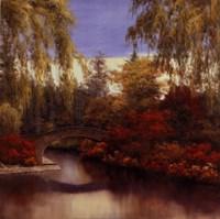 Autumn Crossing Fine Art Print