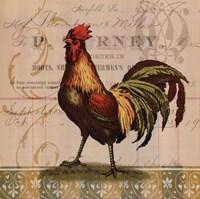 Chickens & Scrolls II Fine Art Print