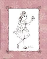 Pink Ballerina 1 Framed Print