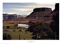The Banks Of The Colorado Fine Art Print