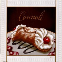Cannoli Framed Print