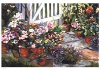 Garden Walk Fine Art Print
