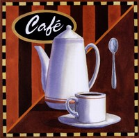Cafe Framed Print