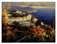 Mediterranean Seascape Fine Art Print