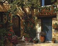 Il Giardino Fiorito Fine Art Print