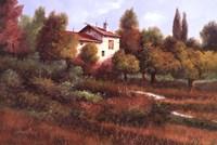 La Casa Nel Bosco Fine Art Print