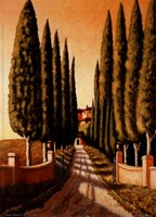 Tuscan Retreat Fine Art Print