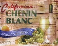 Californian Chenin Blanc Framed Print