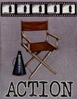 Action Framed Print