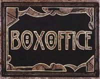 Box Office Framed Print