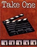 Take One Framed Print