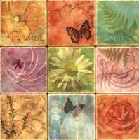 Inspirational Squares I Fine Art Print
