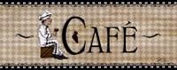 Cafe' Fine Art Print