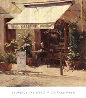 Provence Patisserie Fine Art Print