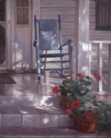 Georgia's Rocking Chair Fine Art Print