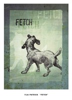 Fetch Fine Art Print