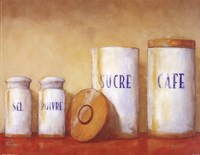 Kitchen Canisters Fine Art Print