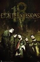 Eighteen Visions - Group Shot Wall Poster