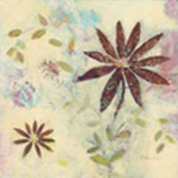 Floral Rhythm 1 Fine Art Print
