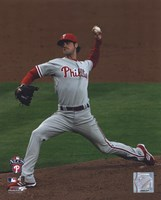 Cole Hamels 2008 Game 5 NLCS Fine Art Print