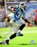 DeAngelo Williams 2008 Action Fine Art Print