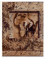 Wild Kingdom I Framed Print
