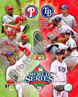 2008 World Series Match Up Compostie Fine Art Print