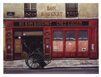 Au Bon Bougnat Framed Print
