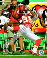Dwayne Bowe 2008 Action Fine Art Print