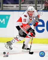 Daniel Alfredsson 2008-09 Away Action Fine Art Print