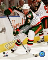 Mikko Koivu 2008-09 Away Action Fine Art Print