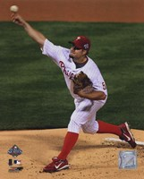 Joe Blanton Game four of the 2008 MLB World Series Fine Art Print