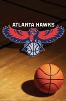 Hawks - Logo 08 Wall Poster