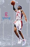 Pistons - Richard Hamilton 08 Wall Poster