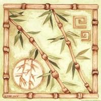 Bamboo Breeze III Framed Print