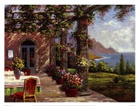 Amalfi Coast I Framed Print