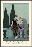 La Villa d'Este Fine Art Print