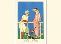 Au Polo Fine Art Print