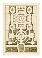 Garden Maze III Fine Art Print