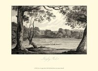 View of Langley Park Fine Art Print