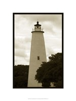Ocracoke Island Lighthouse Fine Art Print