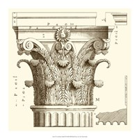 Corinthian Detail II Framed Print