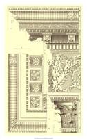 Corinthian Detail VI Framed Print