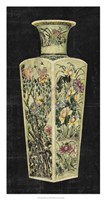 Aged Porcelain Vase I Framed Print