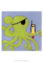 Captain Calamari Fine Art Print