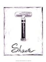 Shave Fine Art Print